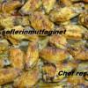 Köri soslu fırında tavuk kanat