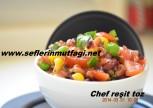 Esmer pirinç salatası