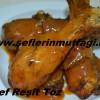 Fırında soslu tavuk baget