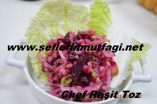 Pancarlı karabuğday salatası