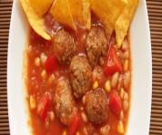 Köfteli Meksika Çorbası
