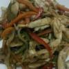 Sebzeli soya soslu tavuk