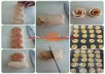 Ayvalı gül kurabiye-Ayvalı gül kurabiye nasıl yapılır-kurabiye tari…