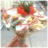 Yoğurtlu erişte salatası-