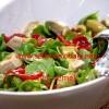 Enginarlı semiz otu salatası-Semiz otu salatası…