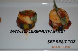 Patlıcanlı deniz tarak tarifi