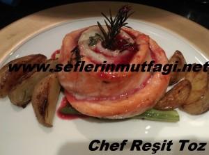 Nar soslu balık